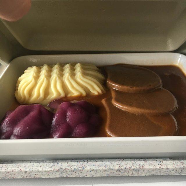 KrankenhausFood Design sauerbraten rotkohlpriert kartoffelpree foodies foodart fooddesign Weiterlesen