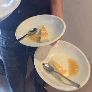 Der Flan als Nachtisch war auch super #laden_ein #loscarnales
