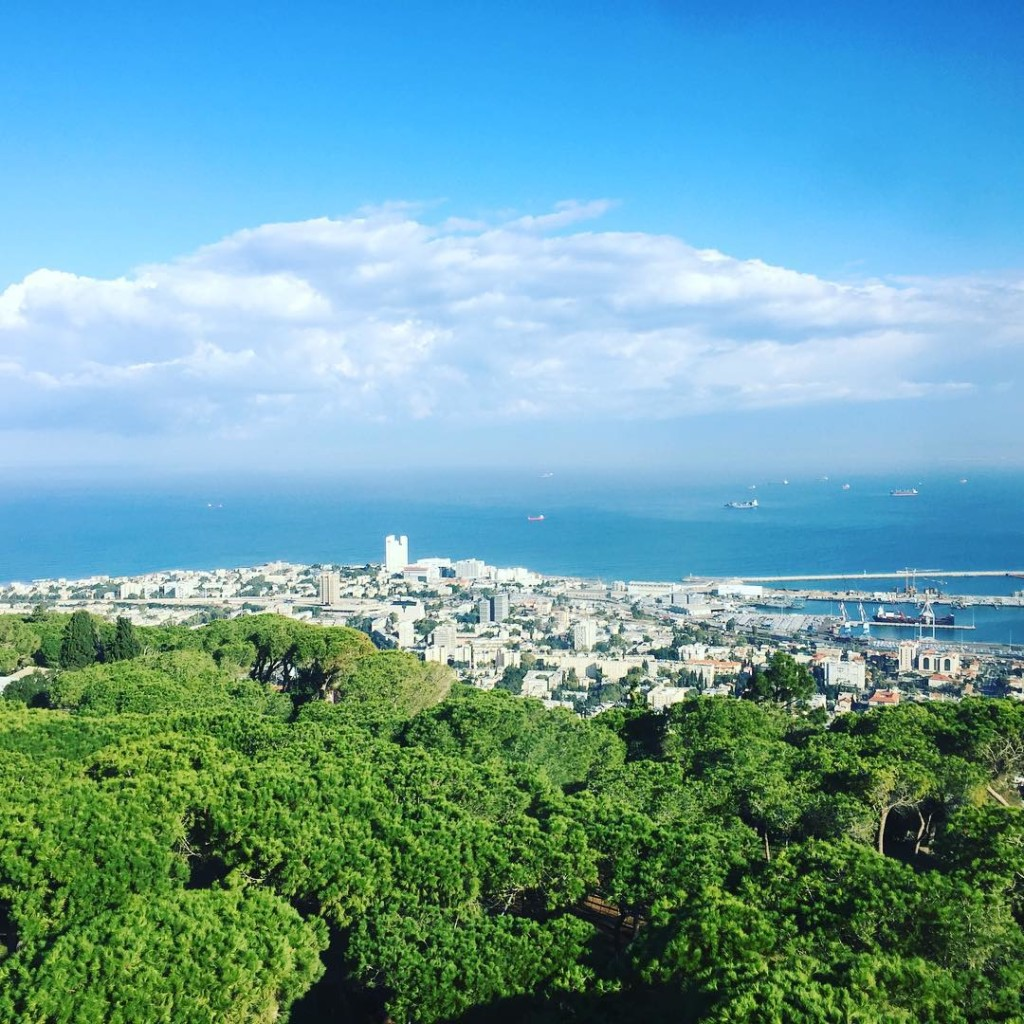 Room with a view #Haifa