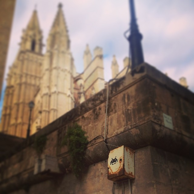 Space Invadors in Palma