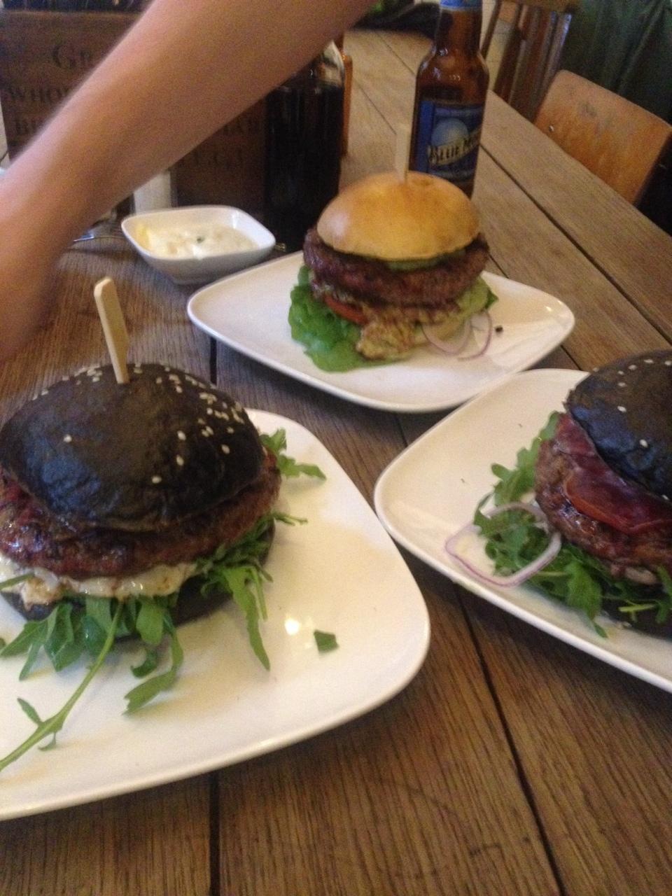 Neue Burger in der fetten Kuh