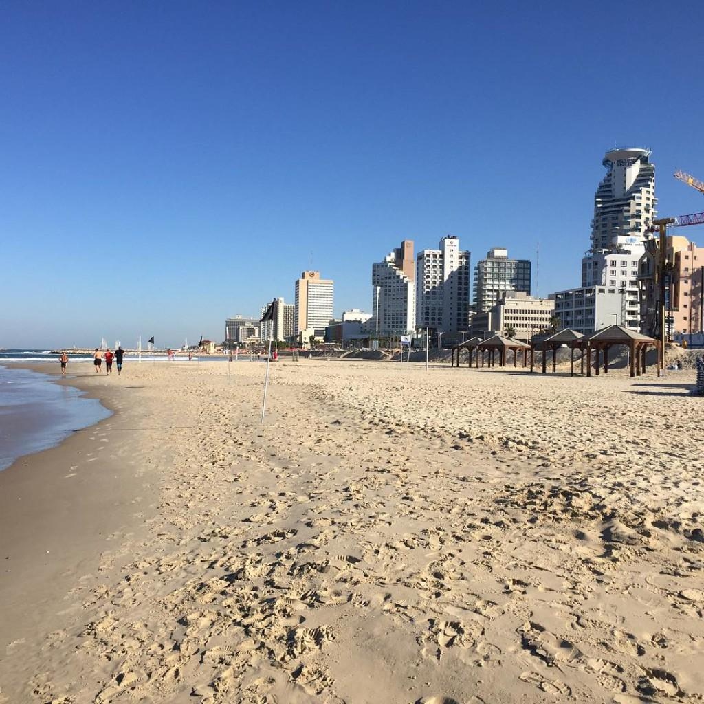 Am Strand #telaviv