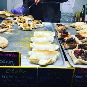 Empanadas auf dem Kölner Naschmarkt #latergram #naschmarkt