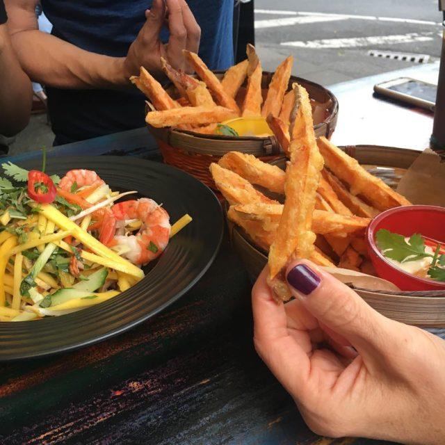 Ssskartoffelpommes streetfood bhanmi