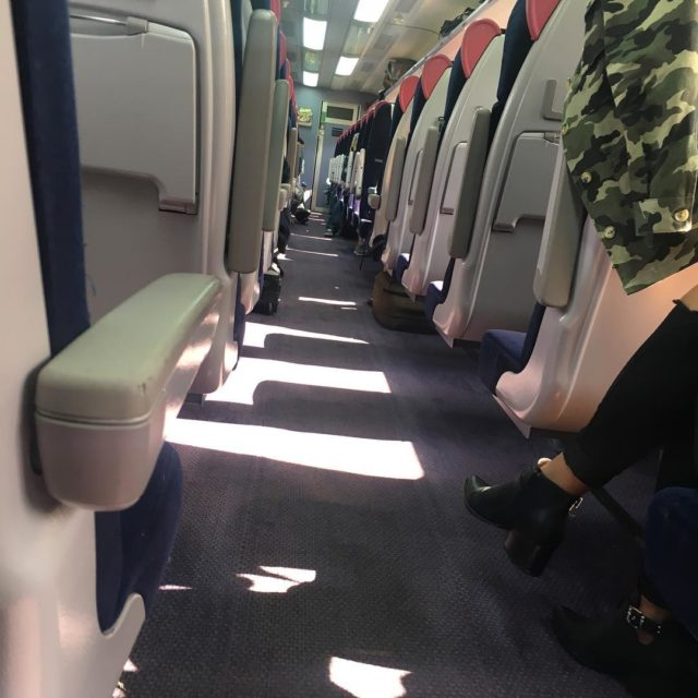 Auf dem Weg nach London zugtweet onatrain train gwr cornwallhikehellip