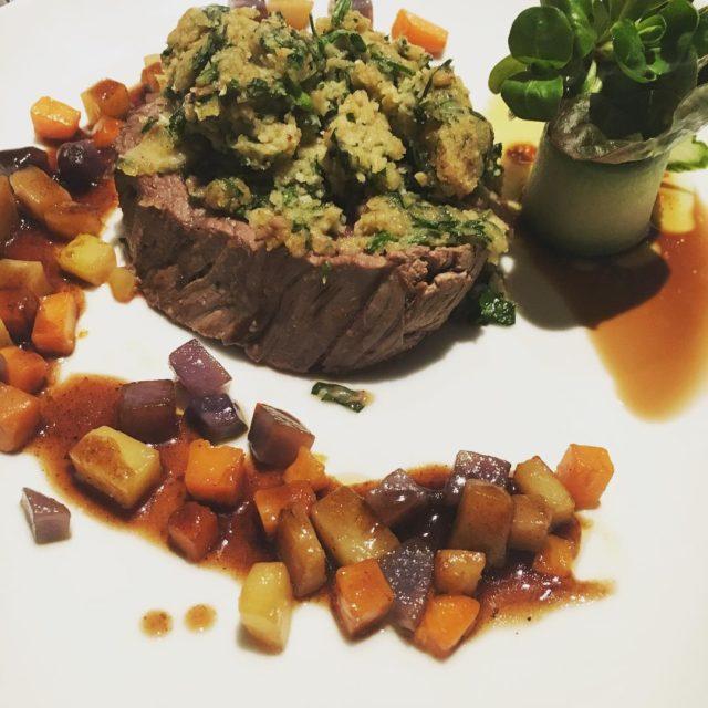 Rind Kartoffeln und MaroneParmesanPetersilie derkulinarischedonnerstag supperclub